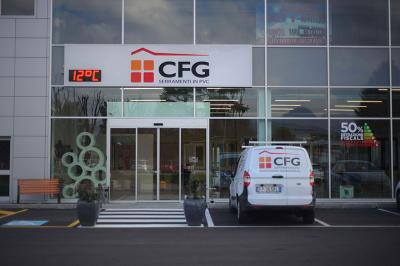 CFG Serramenti: PVC in Showroom a Seriate (BG)